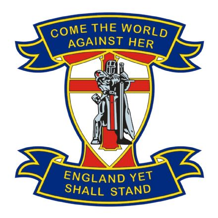 "England  Car Window Sticker ""Come The World"""